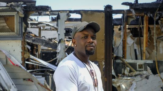 'I Didn't Deserve It': Pandemic Shut Down His Barbershop, Then A Fire Destroyed It