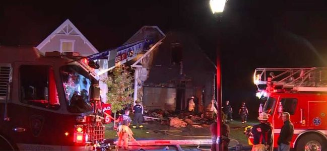 At least 3 rescued from house fire in Deerfield Township