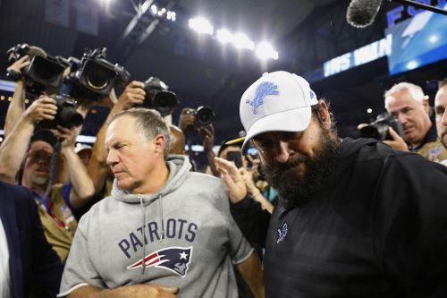 Matt Patricia-led Lions beat Bill Belichick, Patriots 26-10