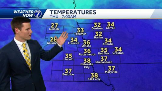 Chilly Wednesday, warming up Thursday and Friday