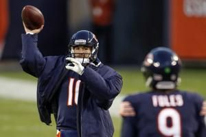Bears name Mitchell Trubisky starting QB vs. Packers