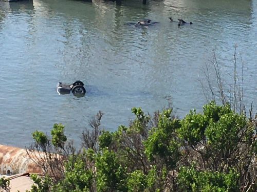 Two bodies recovered from vehicle submerged in the Moss Landing Harbor