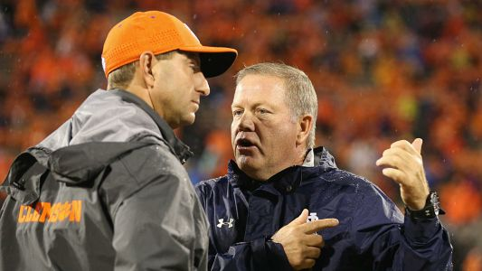 Clemson vs. Notre Dame, potential game of the year, faces huge plot twist without Trevor Lawrence