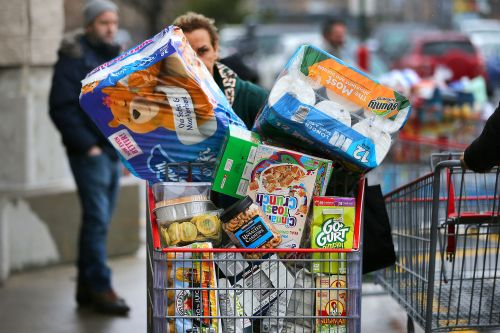 Supply-chain crisis, hoarding products spark food shortages across US
