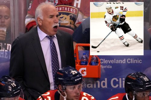 Joel Quenneville ducks media after being implicated in Blackhawks sexual assault scandal