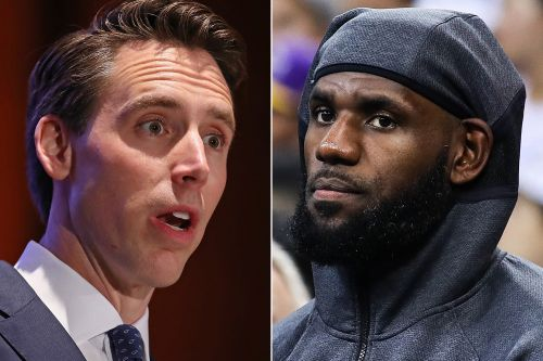 Sen. Josh Hawley rips LeBron James for his comments on Hong Kong protests