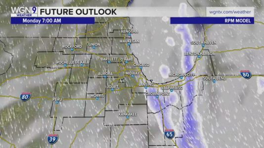 Difficult travel east Monday due to accumulating Lake-effect snows, strong winds