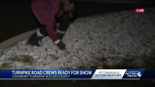 Crews work to keep roads safe after snow hits Butler County overnight