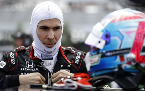 IndyCar driver Wickens flown to hospital after scary crash