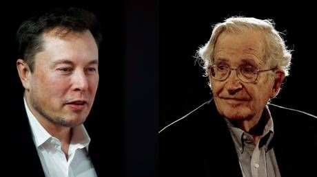 'Mind virus for fools': Elon Musk unloads on Noam Chomsky and bashes communism on Twitter