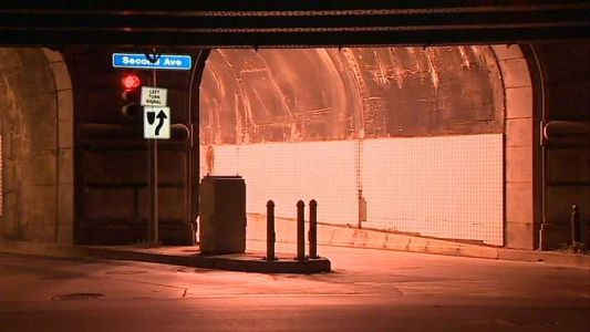 Armstrong Tunnel to close Saturday night for repairs