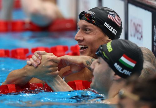 Tokyo Olympics Day 8: Americans bringing in gold medals during final night of swimming