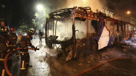 Chile's Capital Engulfed In Chaos As Metro Protests Intensify