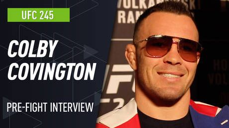 UFC 245: Colby Covington targets Georges St-Pierre, Khabib Nurmagomedov and WWE after capturing UFC welterweight title