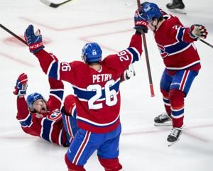 `Crazy' Canadiens familiar with staring down adversity