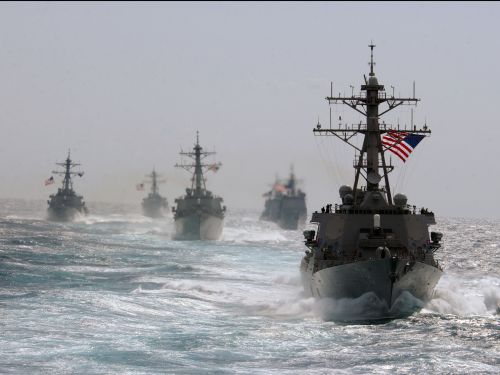 US Navy warships just rocked the Taiwan Strait in rare move, turning up the pressure on China