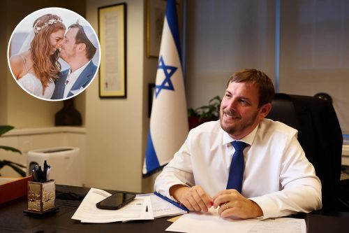 Israel's new top diplomat in NYC has film-star wife, vows to fight cancel culture