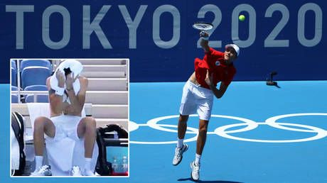 Russian star Daniil Medvedev blasts Olympics tennis tournament a 'joke' as players grapple with sweltering conditions in Japan