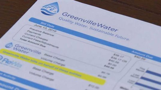 Water bill rate hikes for East side Greenville County homes