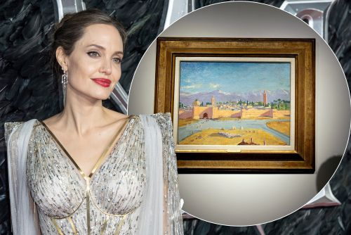 Angelina Jolie sells off Winston Churchill painting from Brad Pitt for $11.5M