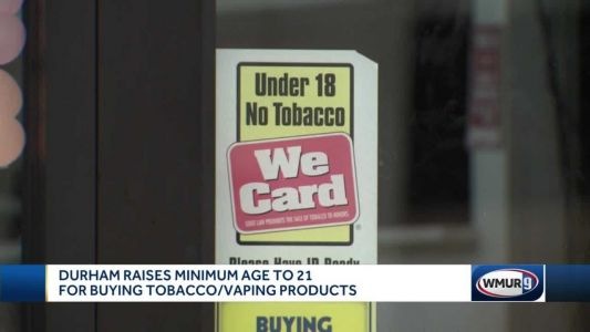 Durham Town Council votes to raise tobacco age to 21