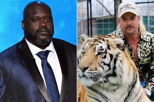 When Shaquille O'Neal learned the truth about Joe Exotic