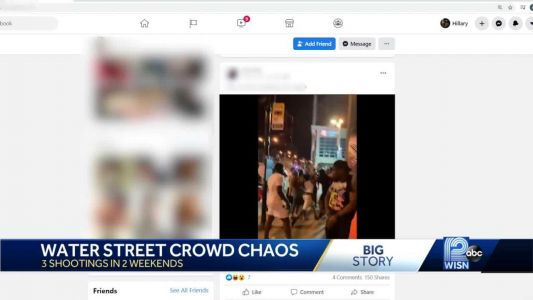 'Chaos' on Water Street: Residents, businesses concerned about violence
