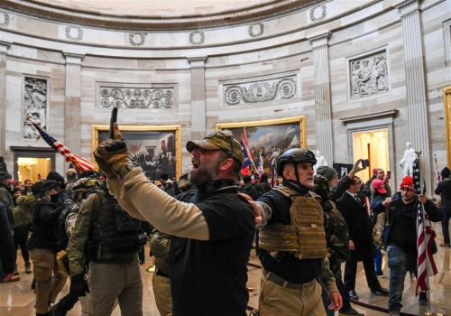 Capitol rioters included ex-military and police