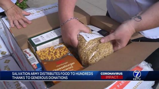 Salvation Army helping families in need thanks to generous donations