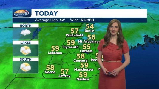 Watch: Early sunshine turns into clouds today