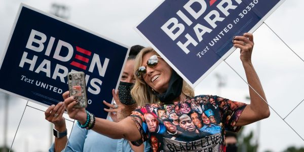 If Biden wins the 2020 presidential election, he may have suburban women to thank
