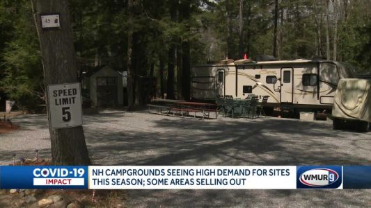 Granite State campgrounds see high demand as some sites start to sell out