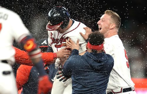 Austin Riley's walkoff hit in ninth leads Braves past Dodgers in Game 1 of NLCS