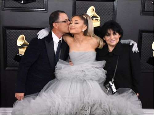 Ariana Grande changed the lyrics about her dad in 'Thank U, Next' for her Grammys performance after they patched things up