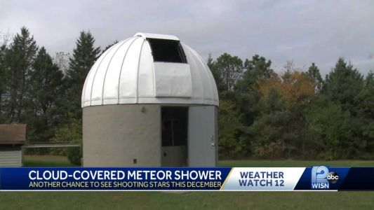Clouds make it tough to see meteor shower