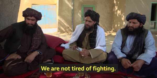 A Taliban leader told the BBC 'we have won' after Biden announced the US troop withdrawal from Afghanistan