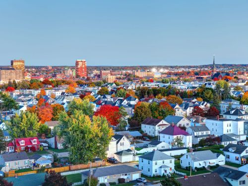 An ordinary New England town has America's hottest real-estate scene