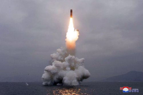 North Korea launches ballistic missiles into waters off Japan