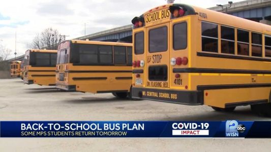 Bus companies prep to return MPS students back to school