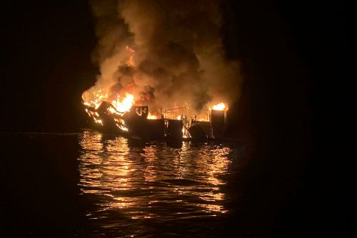 Captain of doomed boat Conception charged in fire that killed 34 in California