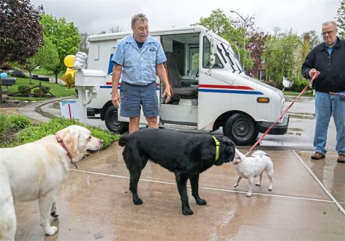 This part of Mailman Bob's route 'felt like family'