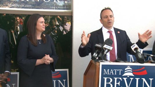 Sarah Huckabee Sanders visits Louisville to support Gov. Bevin's campaign