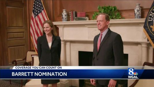 Sen. Toomey meets with Amy Coney Barrett