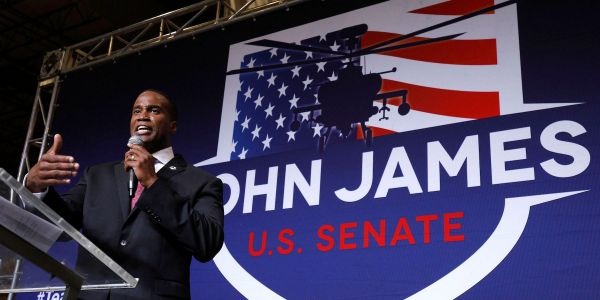 Democratic Senator Gary Peters faces Republican John James in Michigan