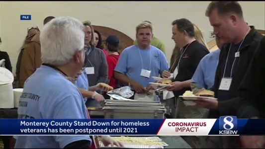 Monterey County Stand Down for homeless vets pushed back a year