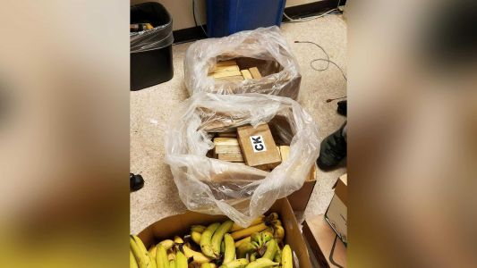 More than $1 million in cocaine found in banana shipments at supermarkets