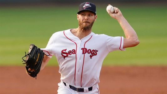Red Sox ace Chris Sale dominates in rehab start in Portland