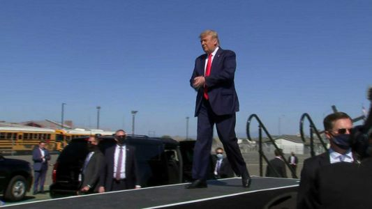 Trump releases video of unedited, contentious '60 Minutes' interview that he abruptly left