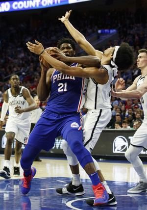 Embiid not playing in Game 3 because of sore knee