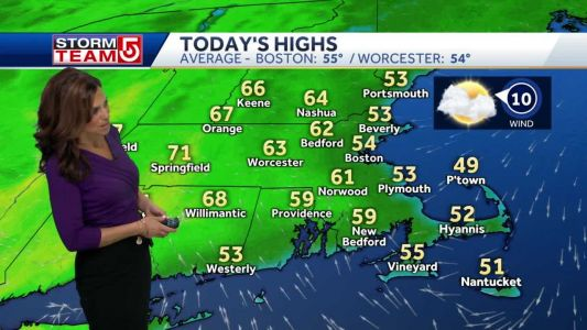 Video: Pleasant day before heavy rain moves in